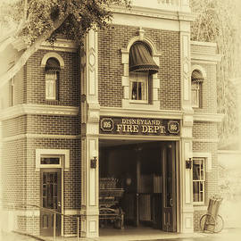 Fire Station Main Street Disneyland Heirloom by Thomas Woolworth