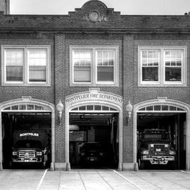 Geoffrey Coelho - Firehouse in Montpelier - Black and White
