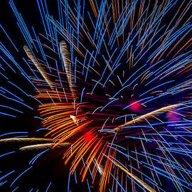 Fireworks Abstract by Andy Crawford