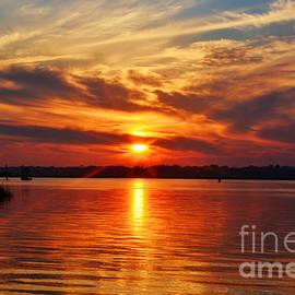 Firey Sunset by Kathy Baccari