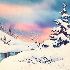 First Snow by Teresa Ascone