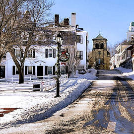 Janice Drew - First Street in Plymouth MA