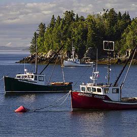 Marty Saccone - Fishing Boats Moored