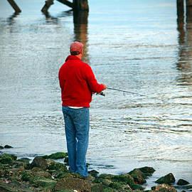 Cynthia Guinn - Fishing By The River