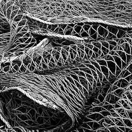 Jane McIlroy - Fishing Nets Monochrome