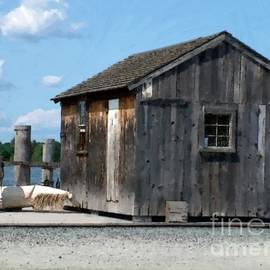 RC DeWinter - Fishing Shack on the Mystic River