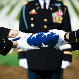 Don Harper - Flag Ceremony at Arlington National Cemetery