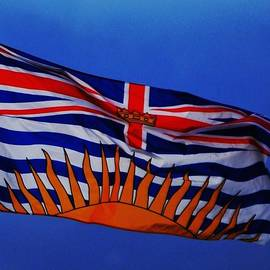 The Flag Of British Columbia by Marcus Dagan