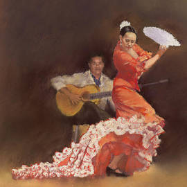 Flamenco by Margaret Merry