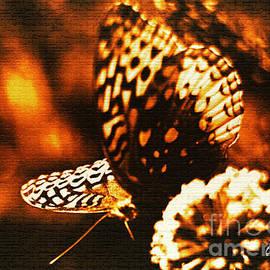 Carol F Austin - Flaming Butterfly of Distinction
