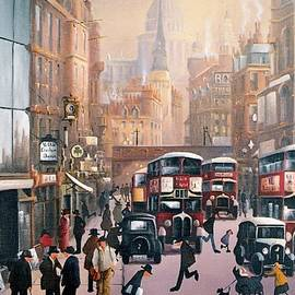 Raymond Alfred Gilronan - Victorian London Fleet Street