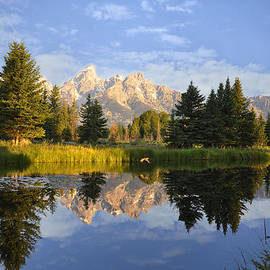 Flight in the Tetons by Rob Hemphill