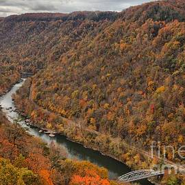 Adam Jewell - Flooded With Fall Colors At New River