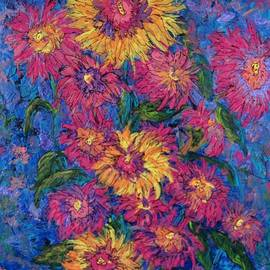 Floral abstract by Megan Walsh