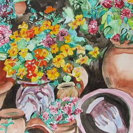Esther Newman-Cohen - Flower Pots  - The Collection