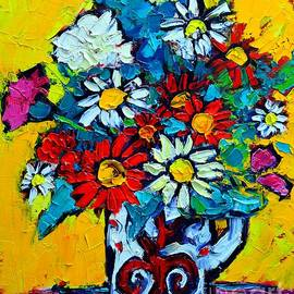 Ana Maria Edulescu - Flowers - Colorful Daisies - Simple Joys Of Life