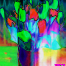 Jean-Claude Delhaise - Flowers In A Vase