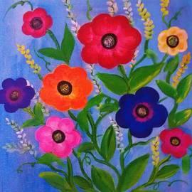 Deyanira Harris - Flowers in spring