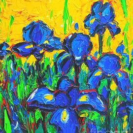 Flowers - Wild Irises by Ana Maria Edulescu