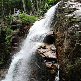 Christiane Schulze Art And Photography - Flume Gorge Franconia Notch In Summer