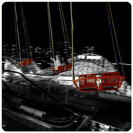 Flying In The Carousel by Natasha Marco