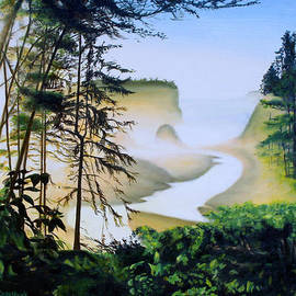 Sue Birkenshaw - Fog on the Coast