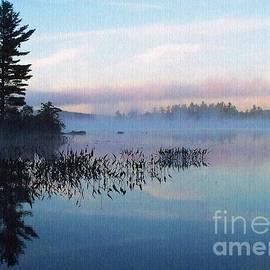 Foggy Morning's Chill -- On Parker Pond by Joy Nichols