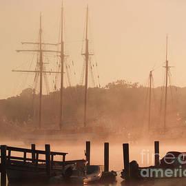 Foggy Mystic Morning by Joe Geraci