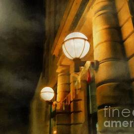 RC deWinter - Foggy Night on Main Street