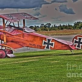 Fokker Tri-plane by Jeremy Hayden