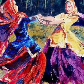Folk dance of Punjab   India