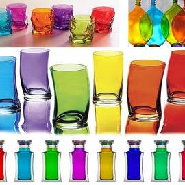 Catherine Lott - Food Coloring Ensemble Wide-Rainbow Theme
