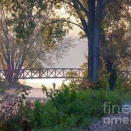 Footbridge II by Kari Yearous