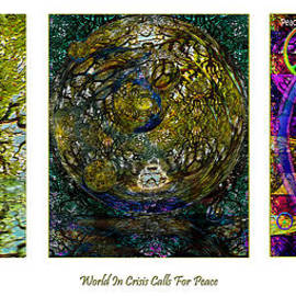 Forest Altar World Crisis Peace by Michele Avanti