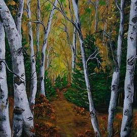 Sharon Duguay - Birch Tree Forest Trail