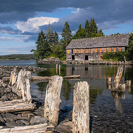 Forgotten Downeast Smokehouse by Marty Saccone