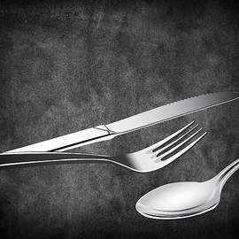 Fork Knife Spoon 10 by Angelina Tamez