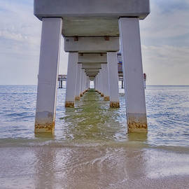 Fort Myers Beach Pier by Kim Hojnacki
