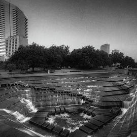 Fort Worth Water Gardens by Joan Carroll