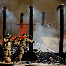 Fort Worth's Fire Dept by Janet Maloy