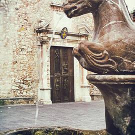 Fountain In Taormina Sicily by Silvia Ganora