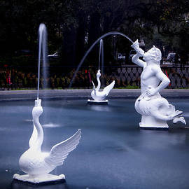 Fountain Sprites by Carol Erikson