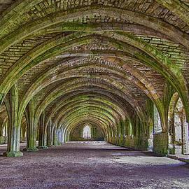 Trevor Kersley - Fountains Abbey  Cellarium