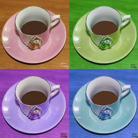 Bruce Nutting - Four Eloquent Coffee Cups