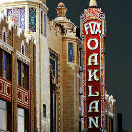 Fox Theater . Oakland California by Wingsdomain Art and Photography