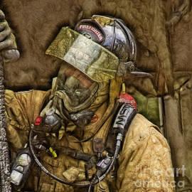 Fractalius Interior Firefighter by Jim Lepard