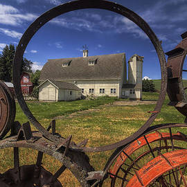 Framed by Wheels  by Mark Kiver