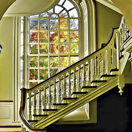 Framed Stairway by Maria Coulson