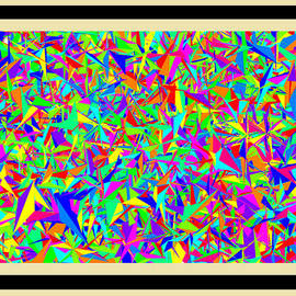 Bruce Nutting - Framed Triangles