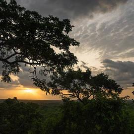 Framing the African Sunset  by Georgia Mizuleva
